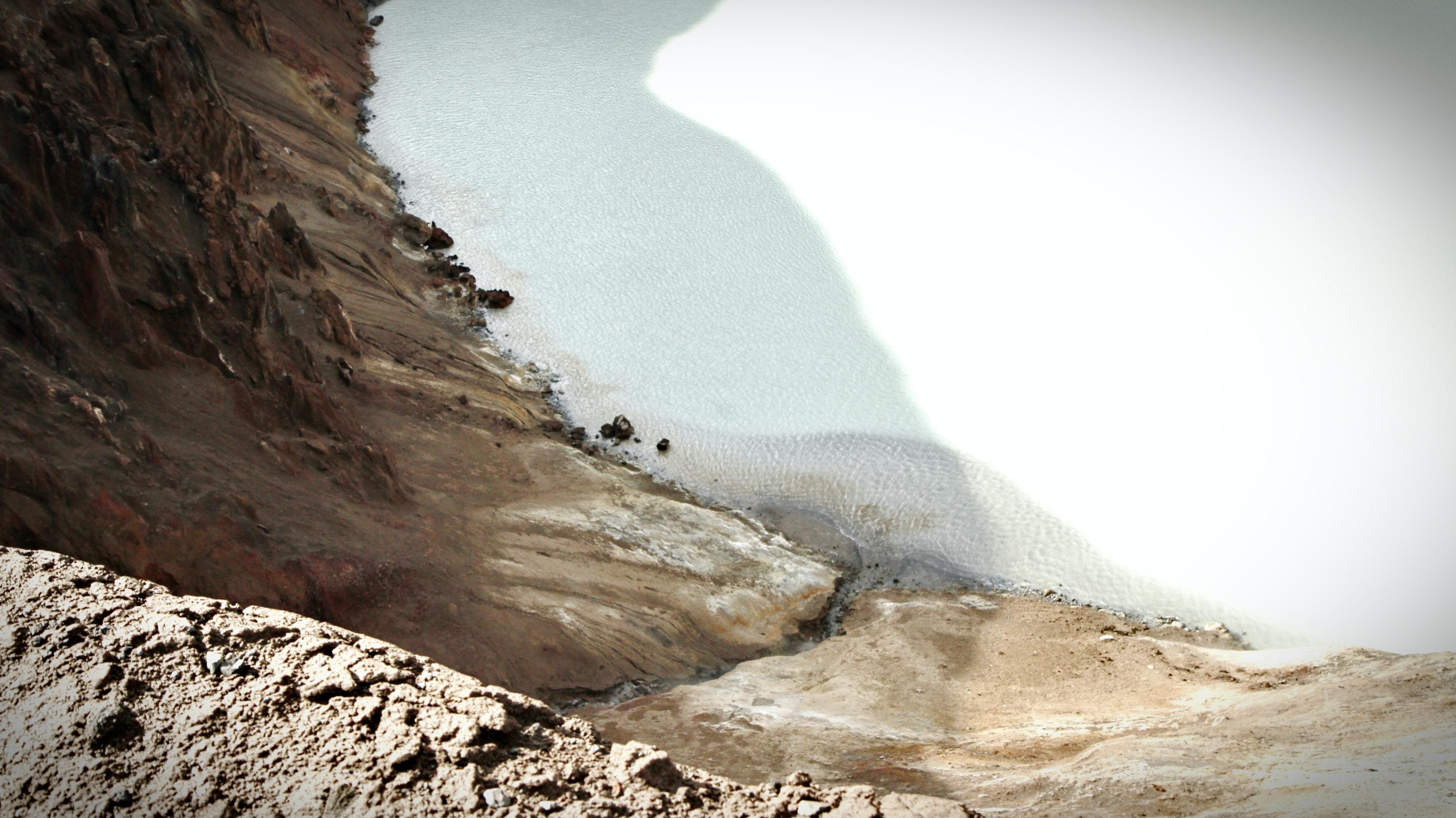 Víti in Askja in Iceland