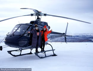 Reykjavik City Private Helicopter Tour with Mountain Top Landing