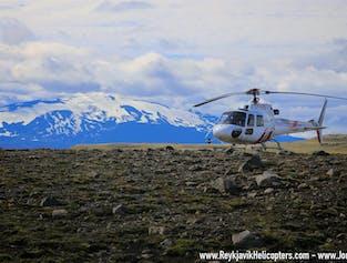 The Diamond Helicopter Tour - Landmannalaugar and Eyjafjallajokull