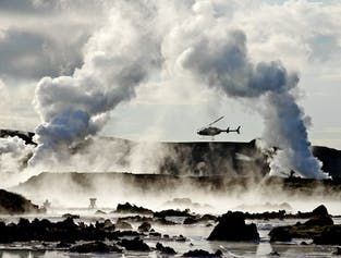 The 'Hour of Power'   Volcanic Helicopter Tour