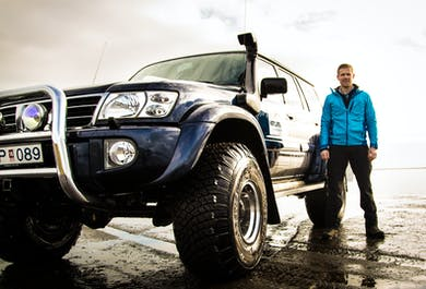 Under The Volcano | Super Jeep Tour from Vík