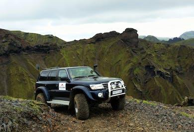 The Hidden Mountains | Super Jeep Tour From Vík