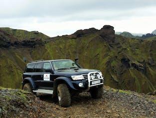 The Hidden Mountains | Superjeep tour from Vík