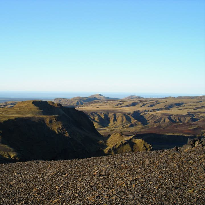 The landscapes surrounding Vík are famed for their natural beauty and drama.