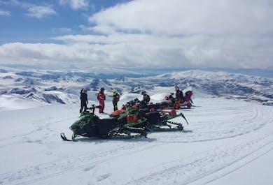 Discover Landmannalaugar | 2-Day Snowmobiling Tour