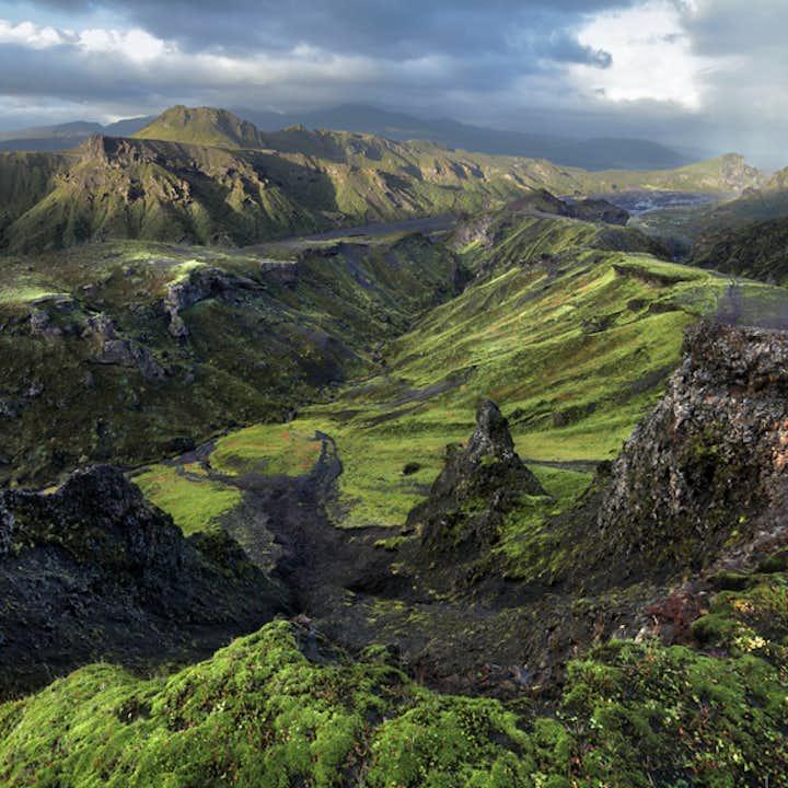 探索冰岛中央内陆高地|超级吉普深入索斯莫克山谷+黄金圈三日游