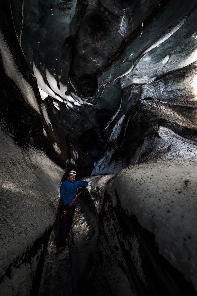 Katla i lodowe jaskinie - wyjazd z Vík