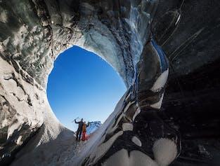 Grotte de glace Katla - départ de Vik