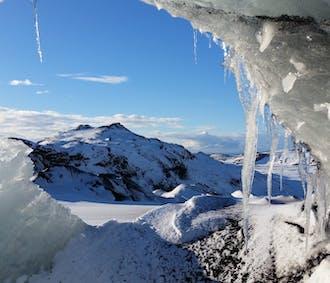 Grotte de glace naturelle à Katla | Départ de Reykjavik