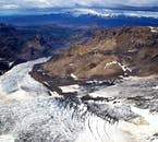 See Iceland's glacier tongues from above on the Volcano Explorer Helicopter Tour.