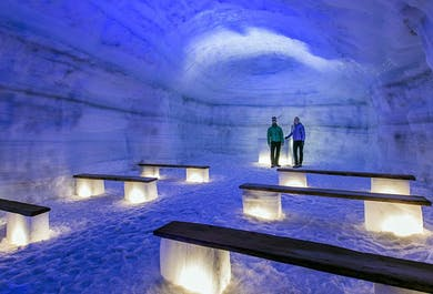 West Iceland Sightseeing Tour | With a Visit to the Ice Tunnel
