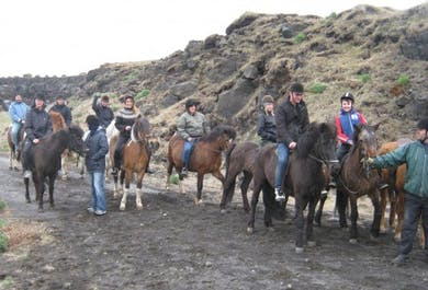 Horse Riding Lava Tour | Departure from Thorlakshofn