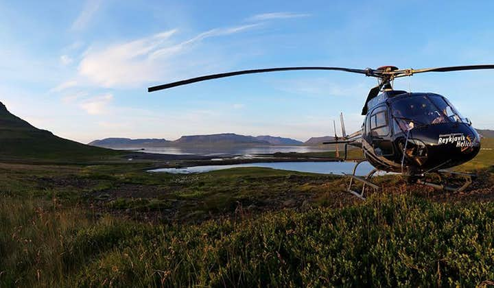 Take a helicopter ride to discover the pure magic of the Snæfellsnes Peninsula.