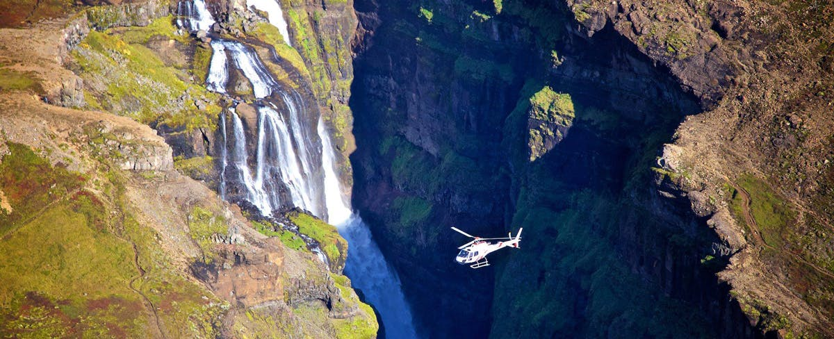 The 'Full Monty' Private Helicopter Tour