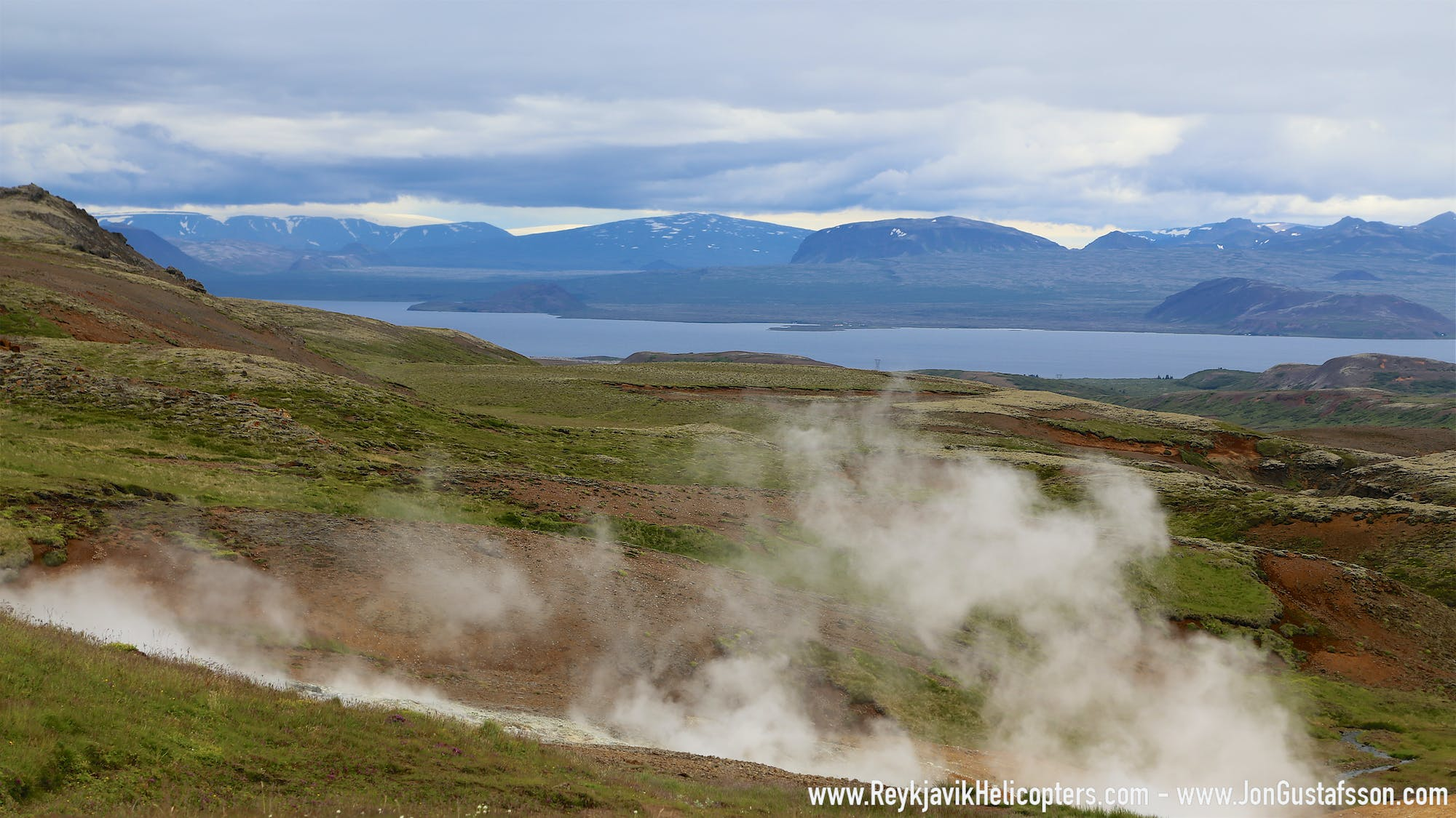 Geothermal Adventure Helicopter Tour (Private)