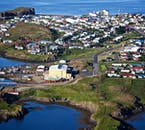 The village Stykkishólmur sits on the northern part of the Snæfellsnes Peninsula in West Iceland.