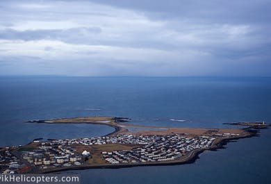 Reykjavik City Helicopter Tour with Mountain Top Landing