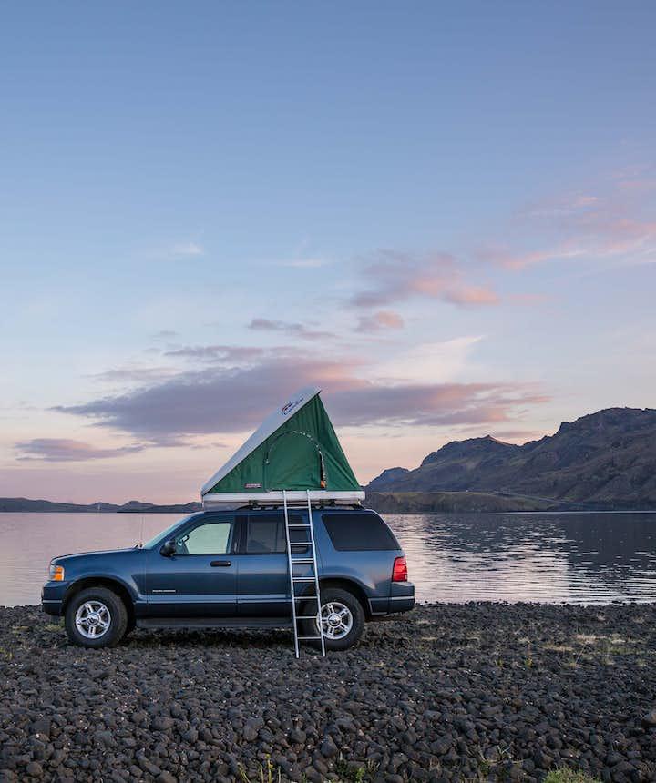 Die perfekte Camping-Rundreise um Island