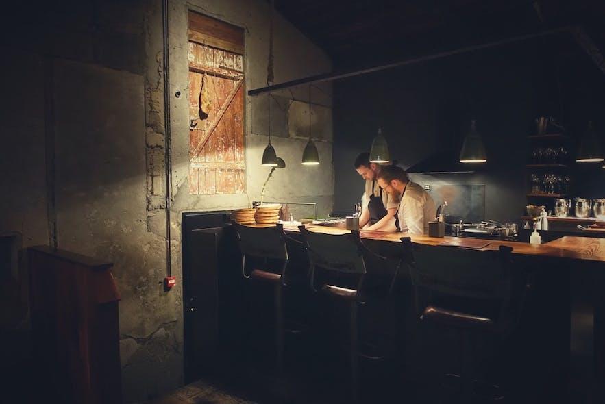 딜 - 아이슬란드 유일의 미슐랭 스타 레스토랑