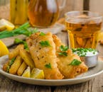 Nothing goes better with a cold pint than Icelandic fish and chips.