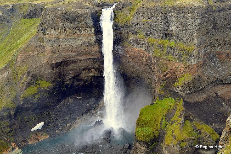 Háifoss waterfall