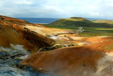 Reykjanes Peninsula with the Blue Lagoon Minibus max.6 persons