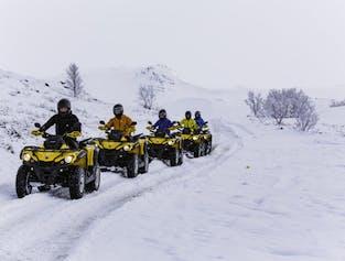 Reykjavik ATV Safari | Lake Hafravatn and Mount Hafrafell