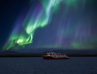 Northern Lights Cruise | Aurora Watching From Faxafloi Bay
