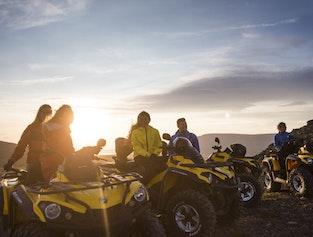 ATV twin peaks tour | Hafrafell and Ulfarsfell