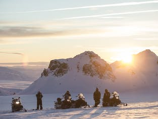 Golden Circle and Snowmobiling on a Glacier | Exclusive Super Jeep Tour