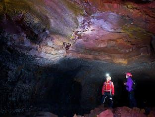 Lava Cave & Geothermal Adventure