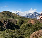 Þórsmörk nature reserve is lined with hiking trails that take you through areas of stunning natural beauty.