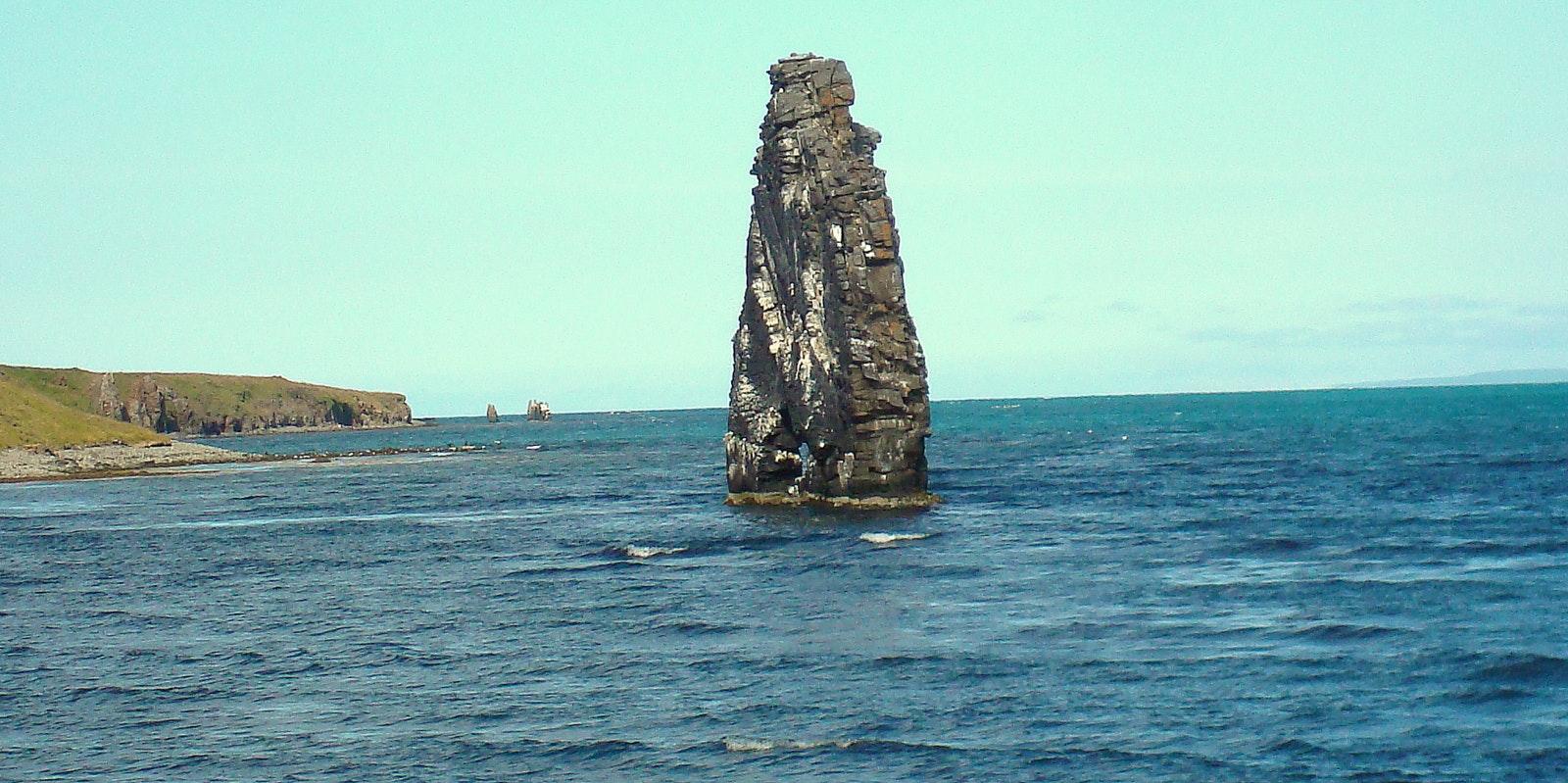 Hvítserkur rock formation in northwest Iceland