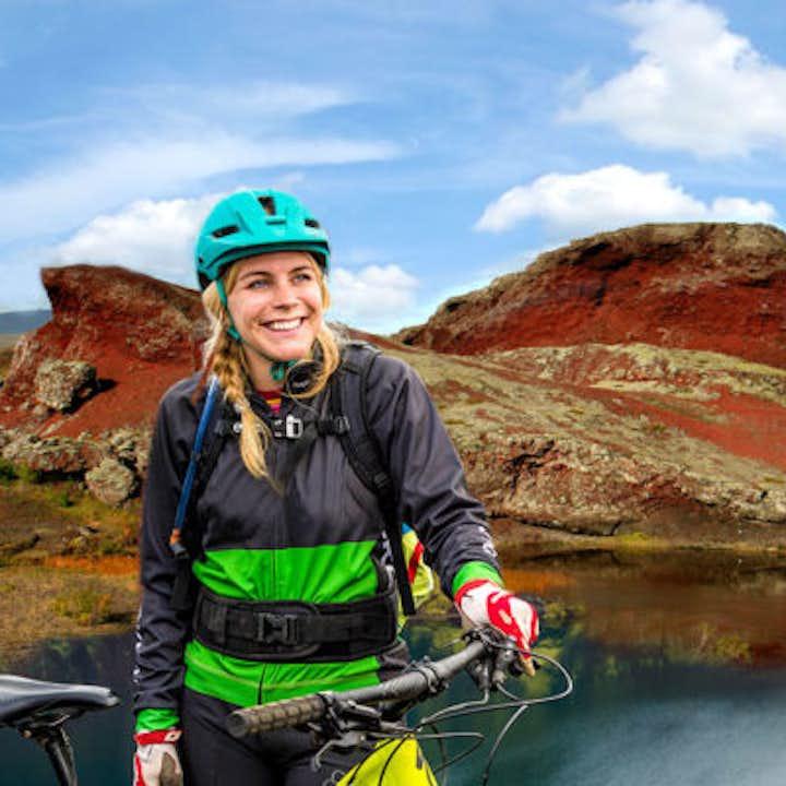 冰岛首都周边海德默克山地自行车一日游