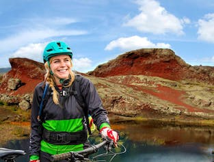 Mountain bike adventure in Heidmork Nature Reserve