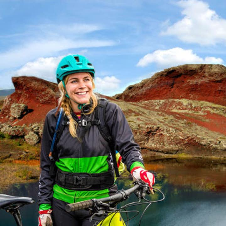 Mountain biking is one of the most exciting ways of immersing yourself in the Icelandic nature.