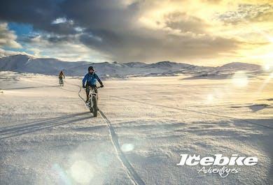 Fat-bike adventure on the Reykjanes Peninsula