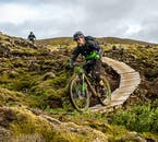Thankfully, this single track mountain bike adventure is designed for the intermediate rider.