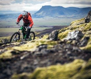 Singletrail Mountainbike-Abenteuer bei Reykjavik | für fortgeschrittene Fahrer
