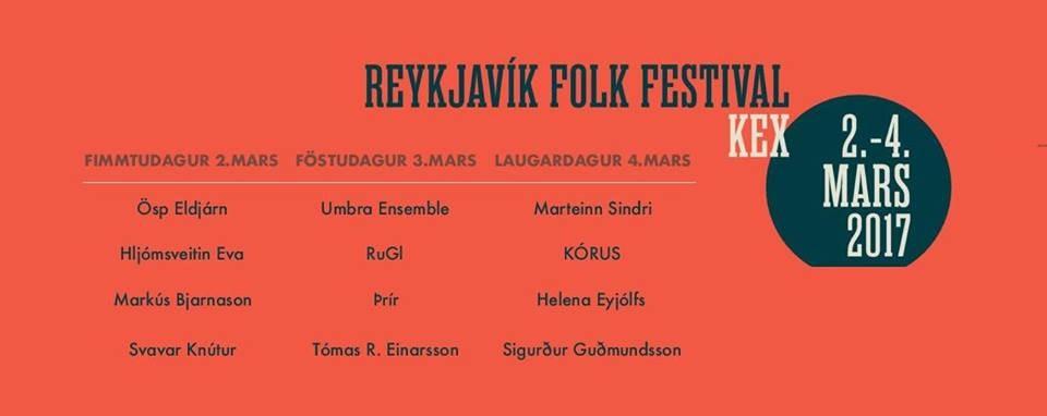 Reykjavik Folk Festival 2017