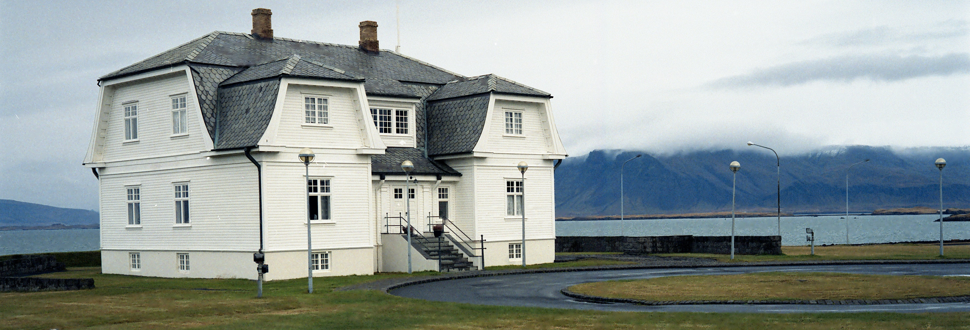 Höfði House is located just ten minutes walk from the main street in Reykjavík, and is where Reagan and Gorbachev met to discuss nuclear disarmament.
