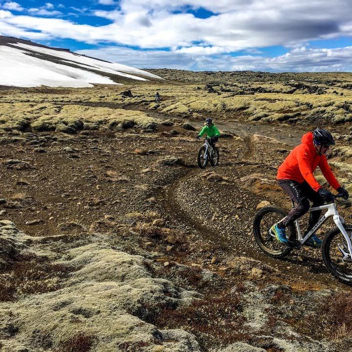 冰岛雷克亚内斯半岛胖胎自行车一日游|雷克雅未克出发
