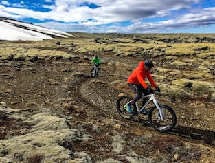 Fat-Bike Adventure on the Reykjanes Peninsula