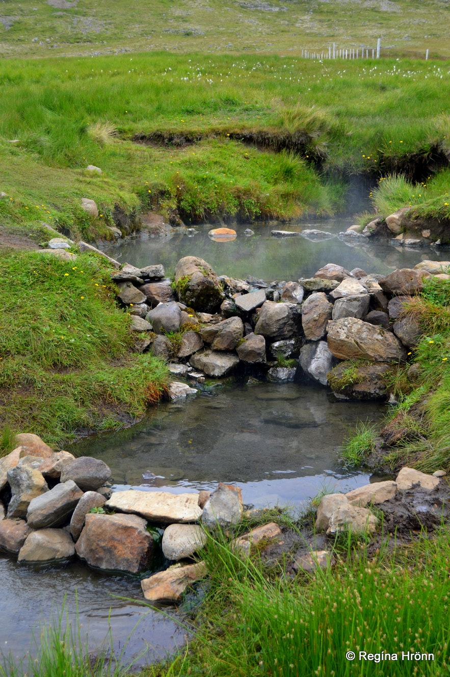 Hot Pools in the Westfjords of Iceland - a Selection of the Natural Pools I have visited