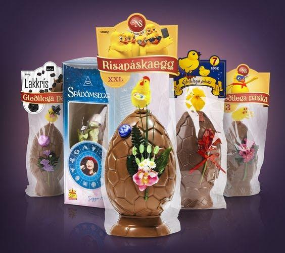 冰岛复活节巧克力蛋