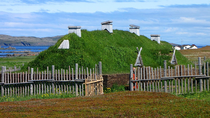 L'Anse aux Meadows, in Newfoundland, is where Leif's settlement was uncovered.