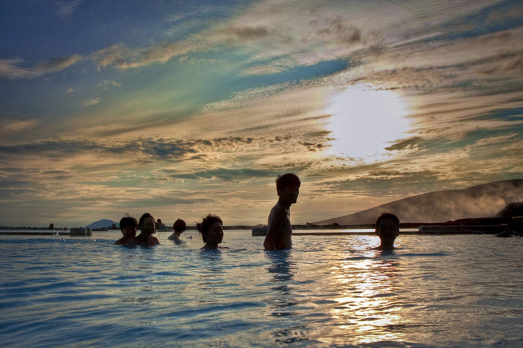 Relaxing in the Mývatn Nature Baths is the ultimate North Iceland experience.