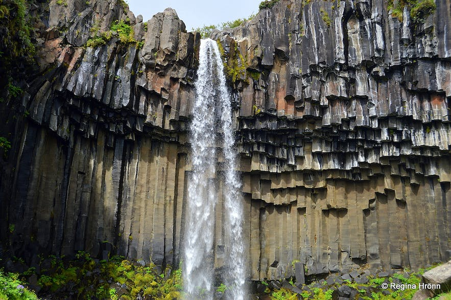 Svartifoss Other Beautiful Attractions In Skaftafell