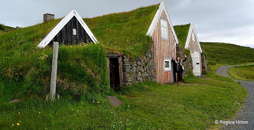 Selið turf house in Skaftafell