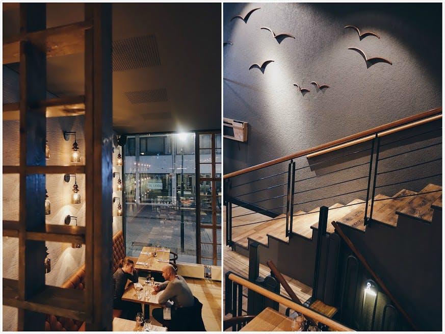 Matwerk's interior and ambiance